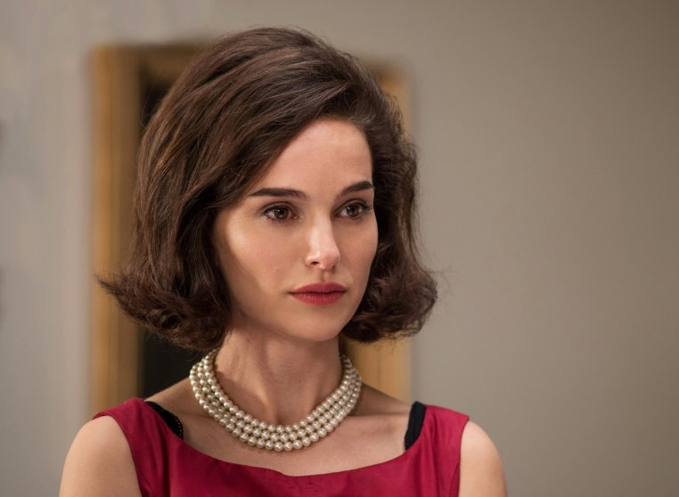 Natalie Portman as Jackie Kennedy.