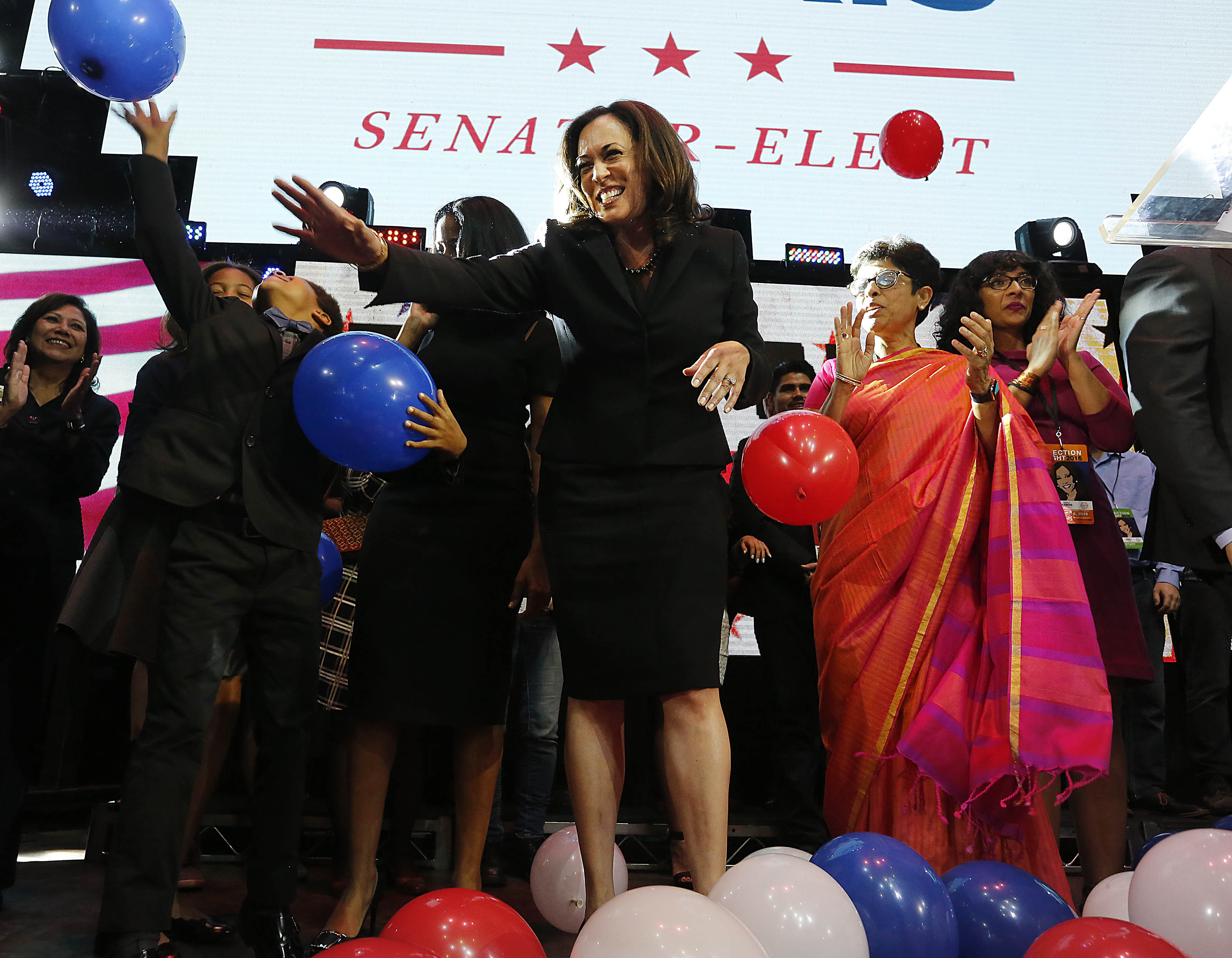 Election 2016 Tammy Duckworth Kamala Harris Made History Time
