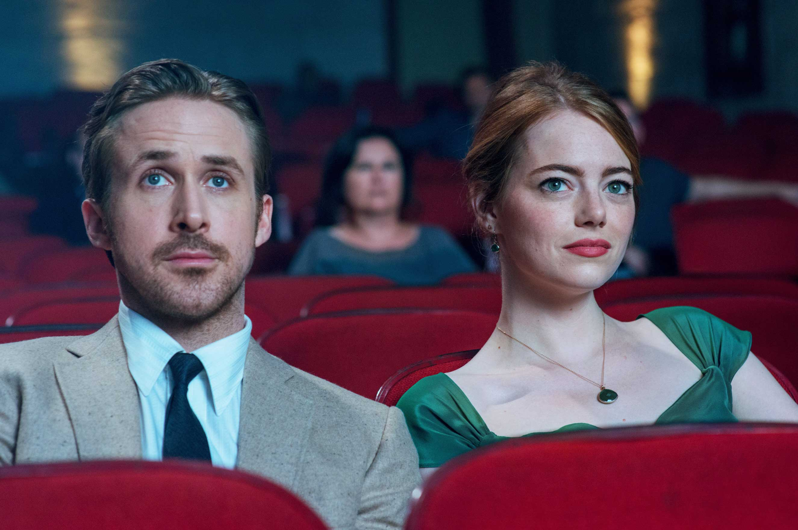 Playing striving artists, Gosling and Stone manage to make La La Land's musical numbers seem natural