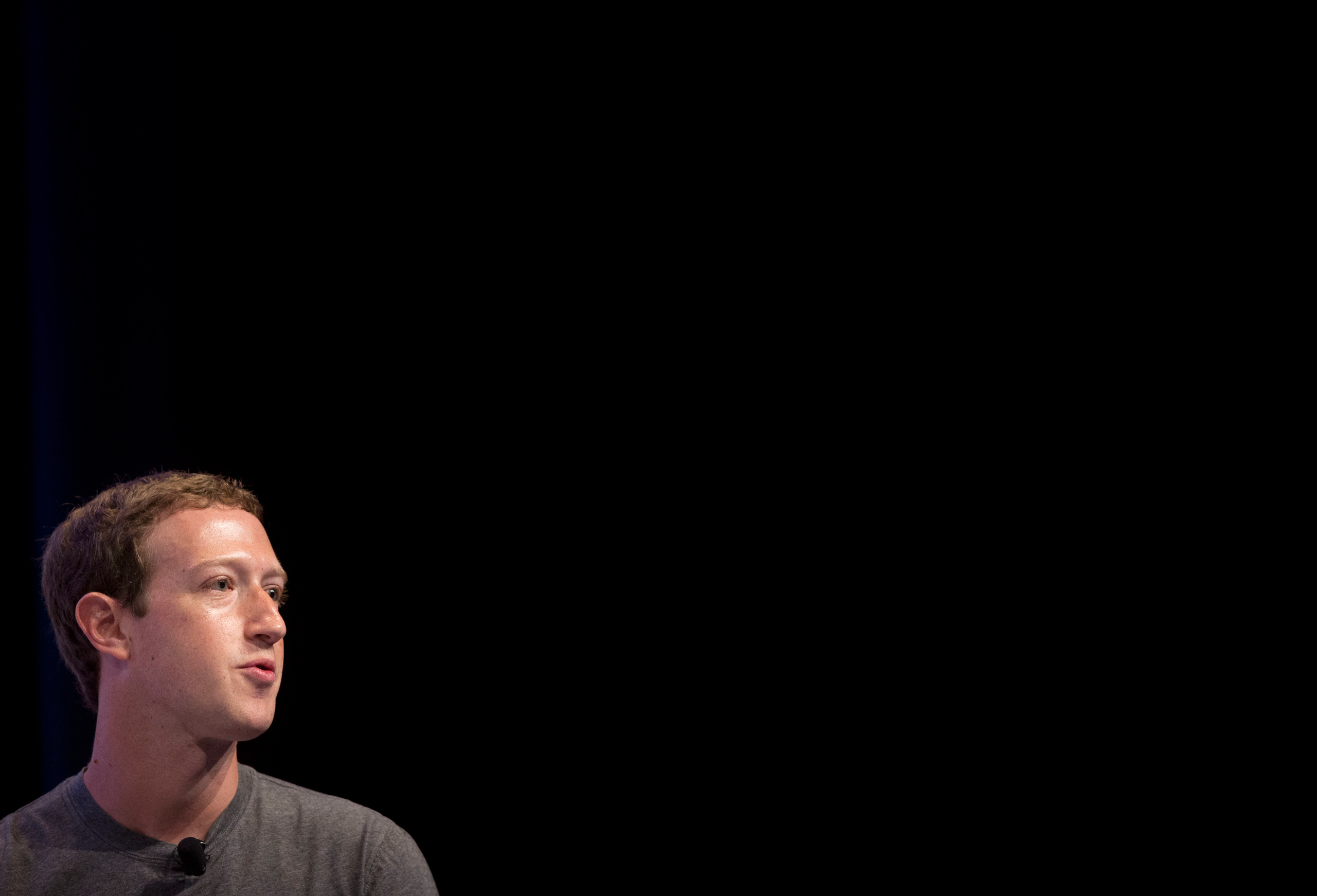Facebook CEO Mark Zuckerberg at the Global Entrepreneur Summit at Stanford University in Stanford, Calif., on June 24, 2016.