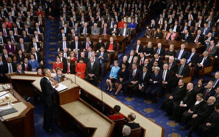 State Of The Union Address - Washington