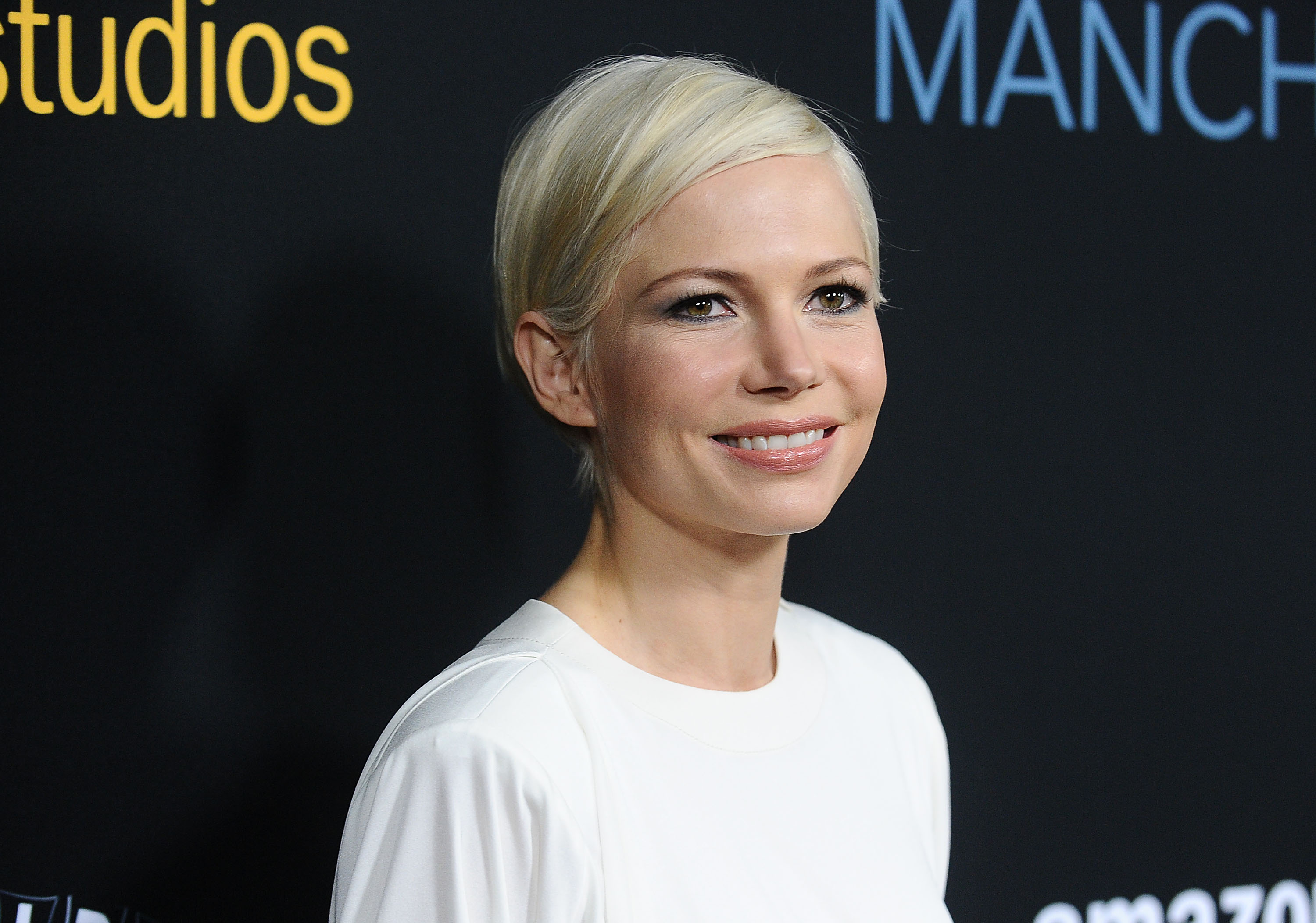 Actress Michelle Williams attends the premiere of  Manchester by the Sea  at Samuel Goldwyn Theater on November 14, 2016 in Beverly Hills, California.