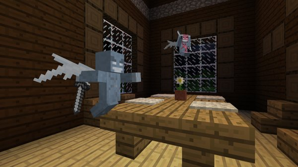 Exclusive Minecraft Adds Exploration Update New Enemies Time