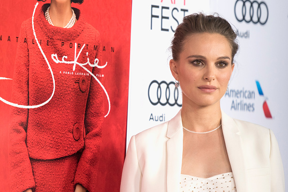 Actress Natalie Portman attends the premiere of 'Jackie' at AFI Fest 2016, presented by Audi at TCL Chinese Theatre on November 14, 2016 in Hollywood, California.
