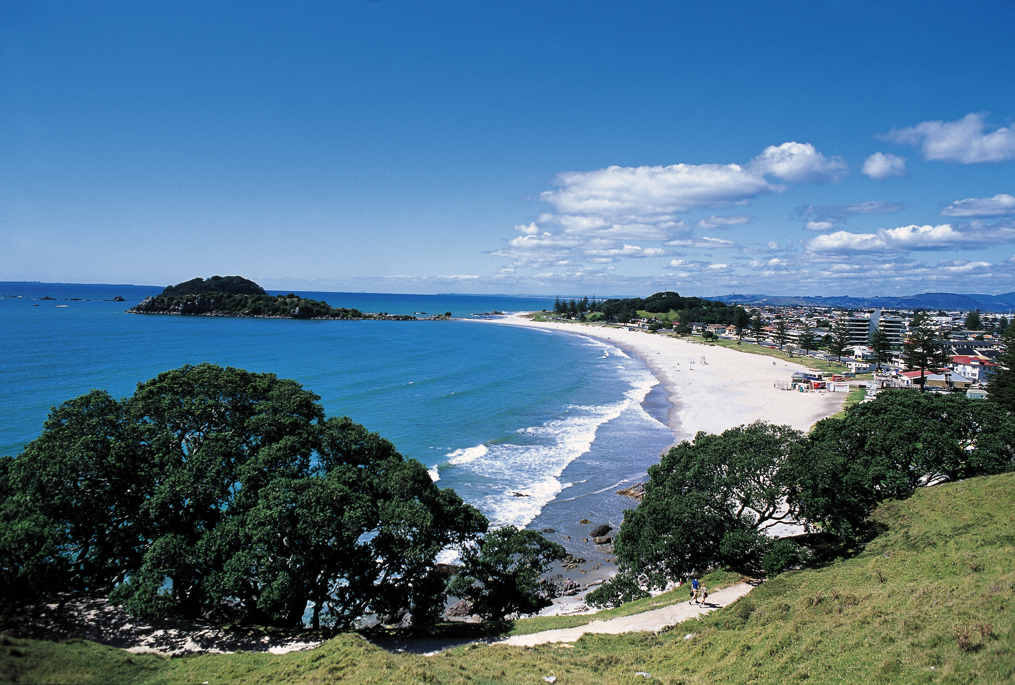 Omanui beach, Tauranga, Bay of Plenty, North island, New Zealand, Feb. 9.