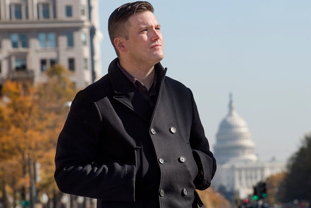 Richard Spencer is in town for the largest white nationalist and Alt Right conference of the year in Washington, DC on November 18, 2016.