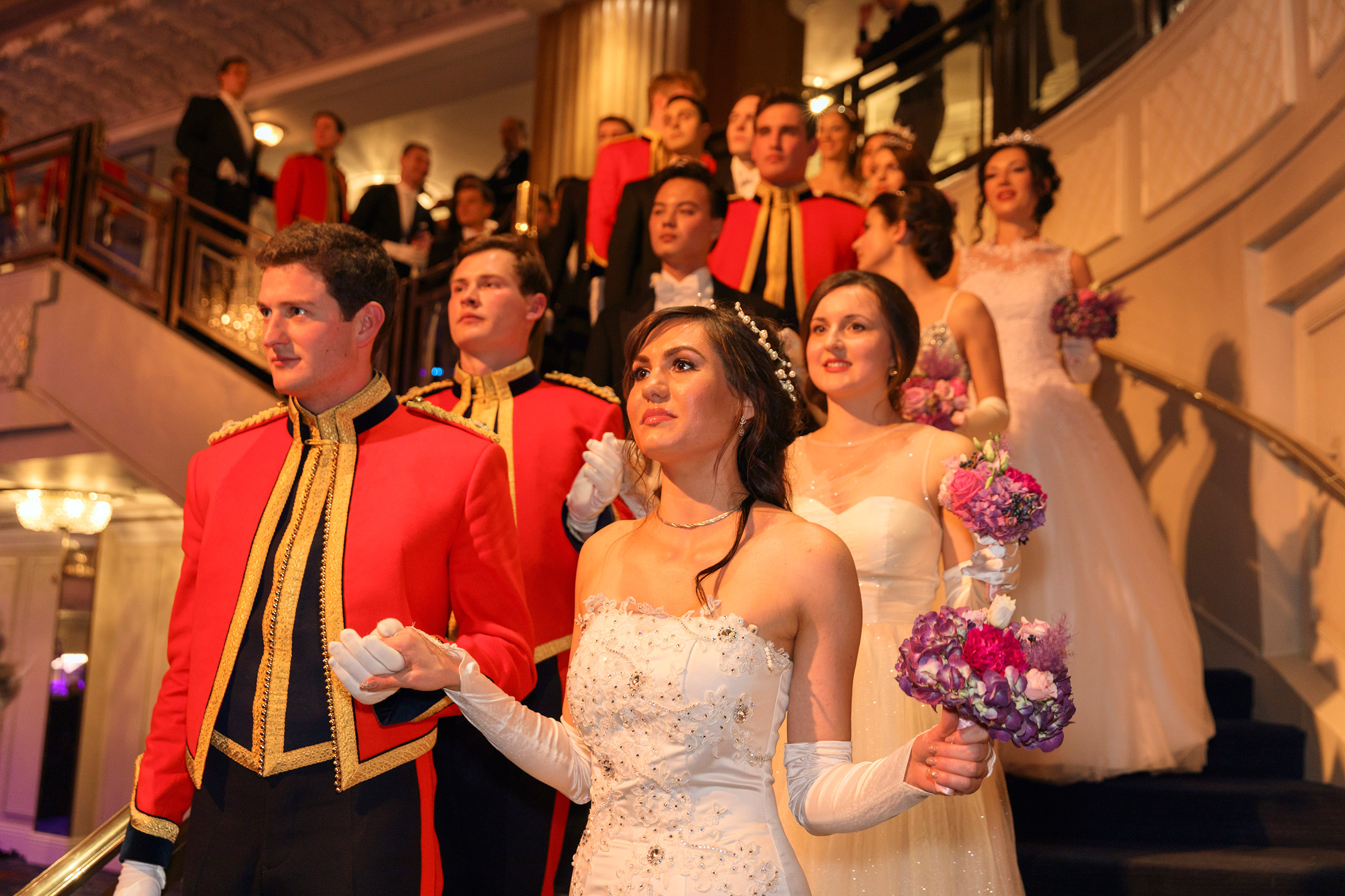 The 2016 Russian Debutante Ball at Grosvenor House Hotel, London.