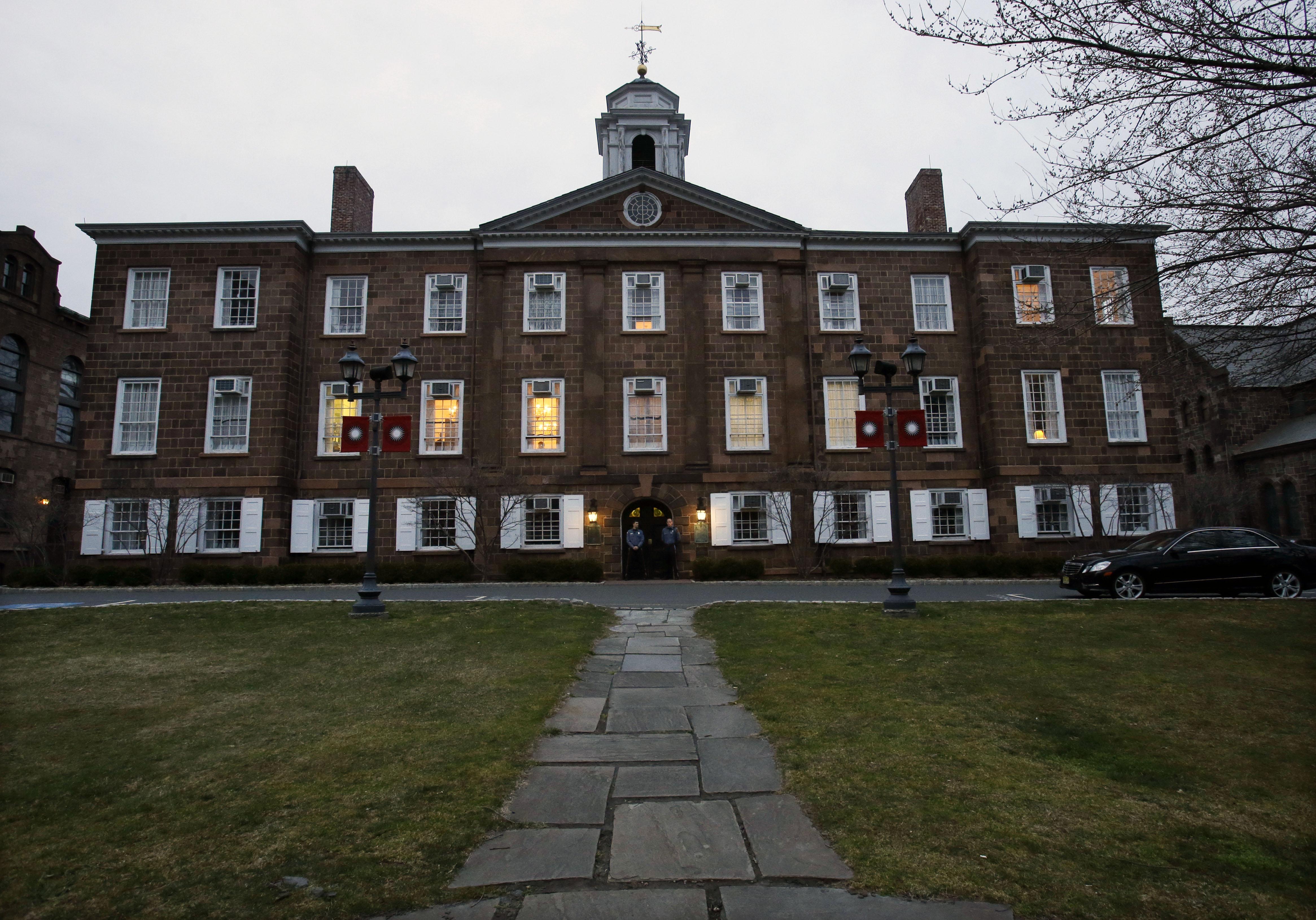 Rutgers University's Old Queens building in 2013, New Brunswick, N.J.