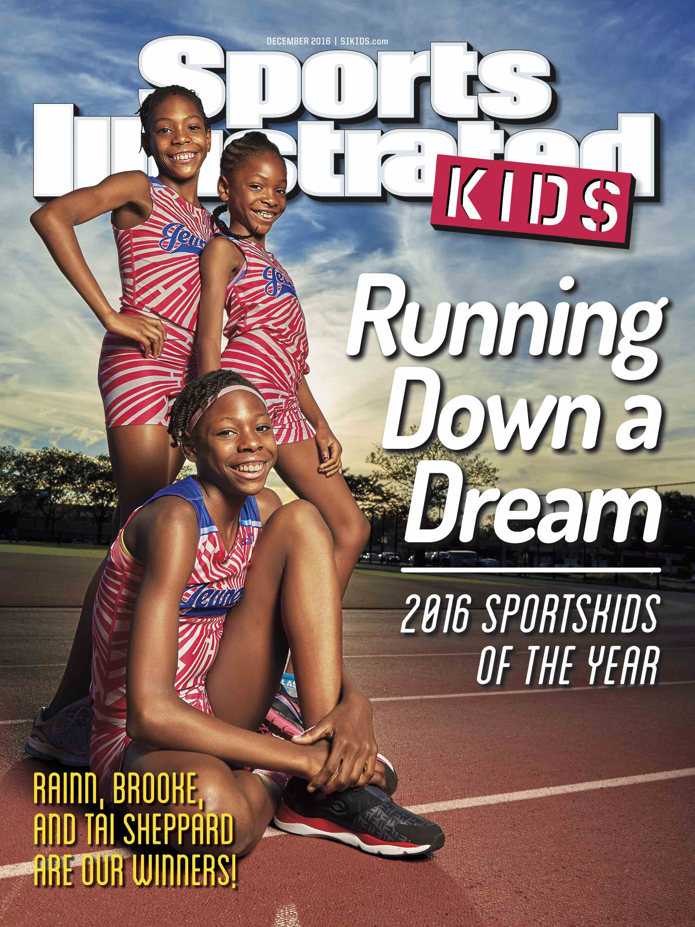 Sports Illustrated Kids has named Tai, Rainn and Brooke Sheppard, of Brooklyn, New York, the 2016 SportsKids of the Year.