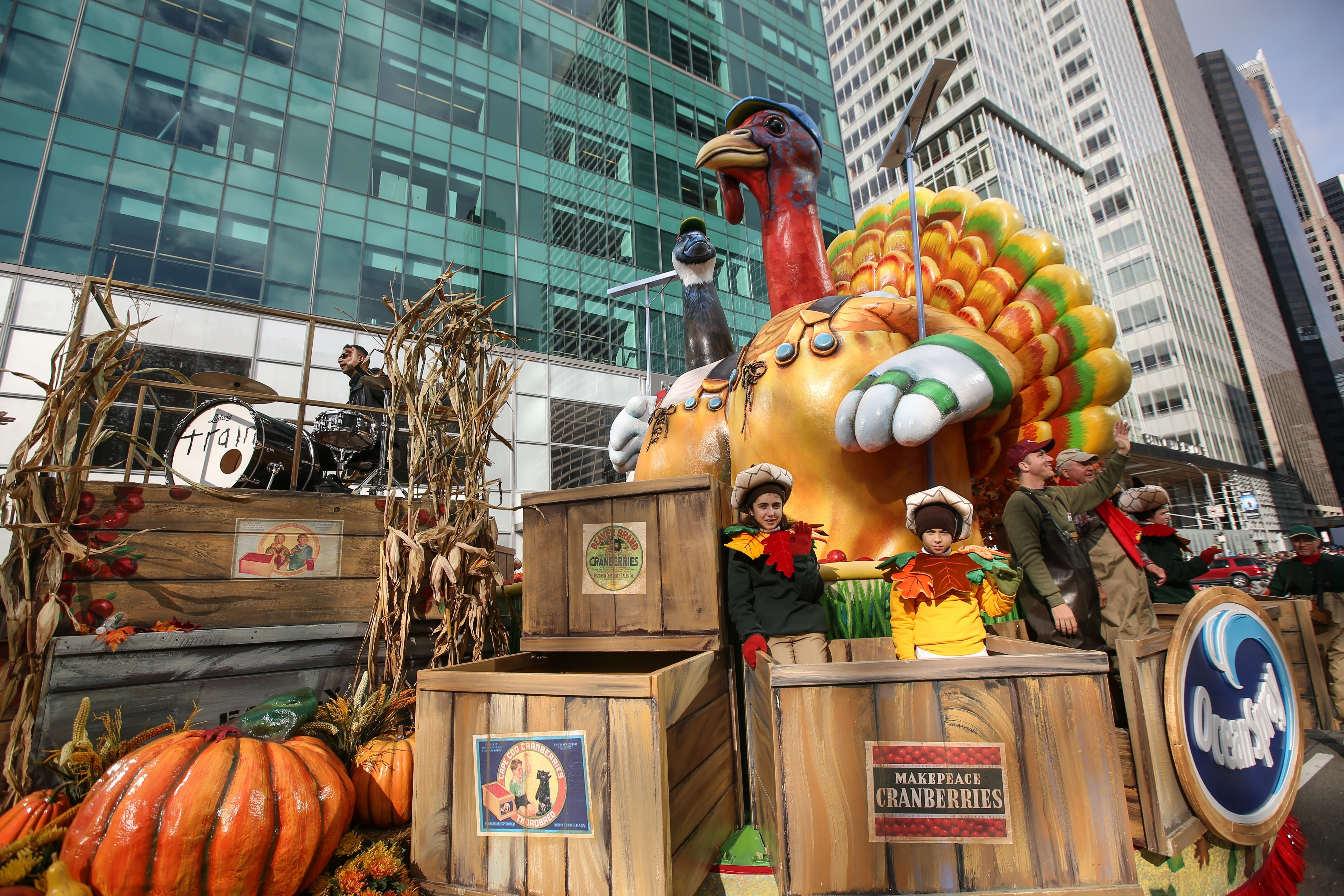 The 89th Annual Macy's Thanksgiving Day Parade in New York, on Nov. 26, 2015.