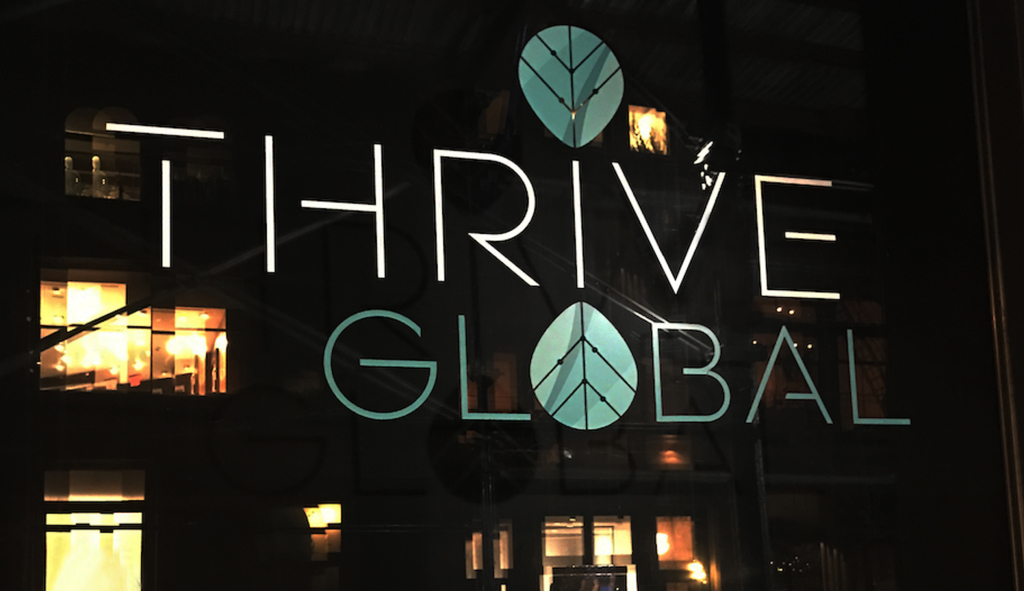 arianna huffington's thrive global launches today Arianna Huffington's THRIVE Global Launches Today thrive store
