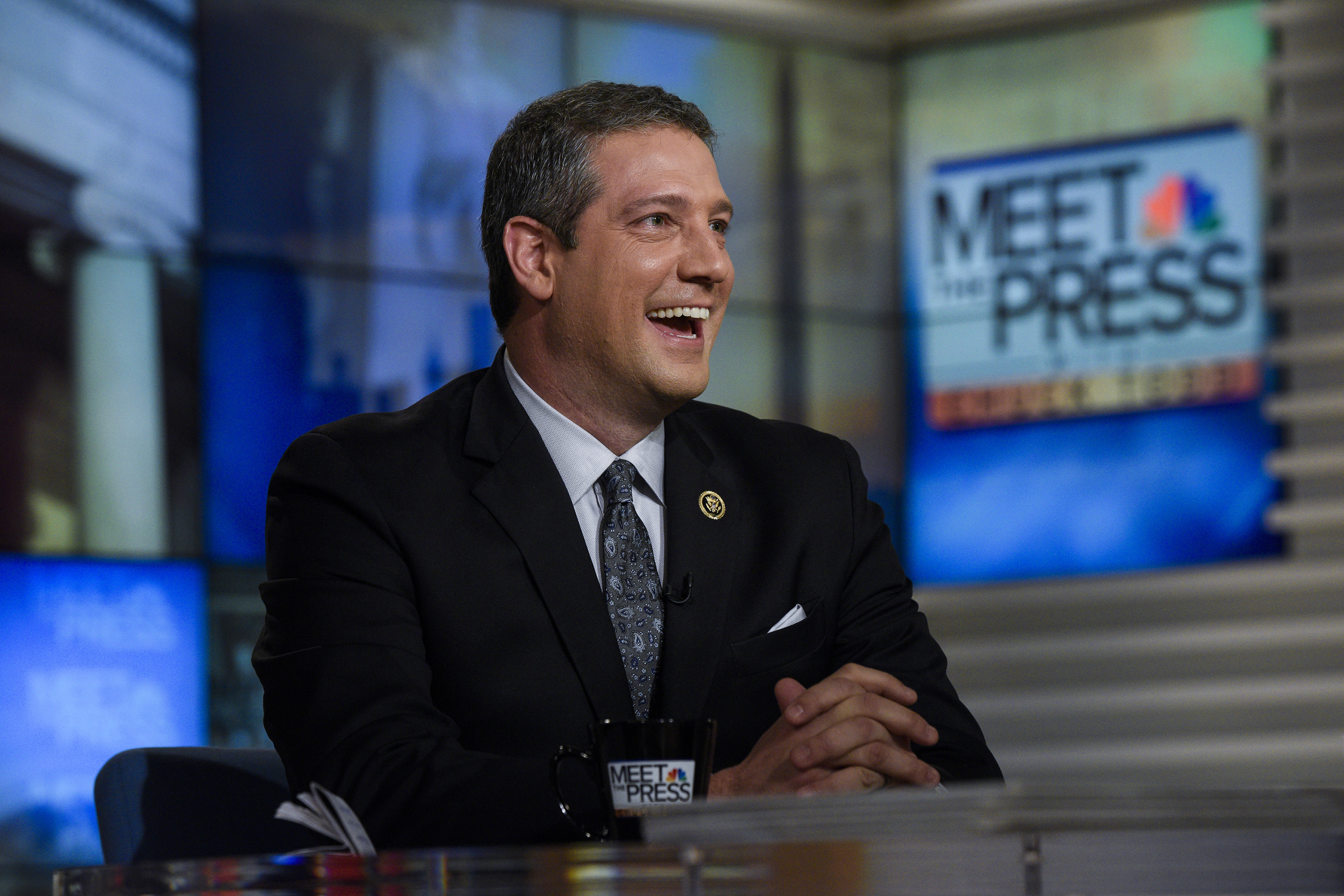 Rep. Tim Ryan appears on  Meet the Press  in Washington, D.C., on Nov. 27, 2016.