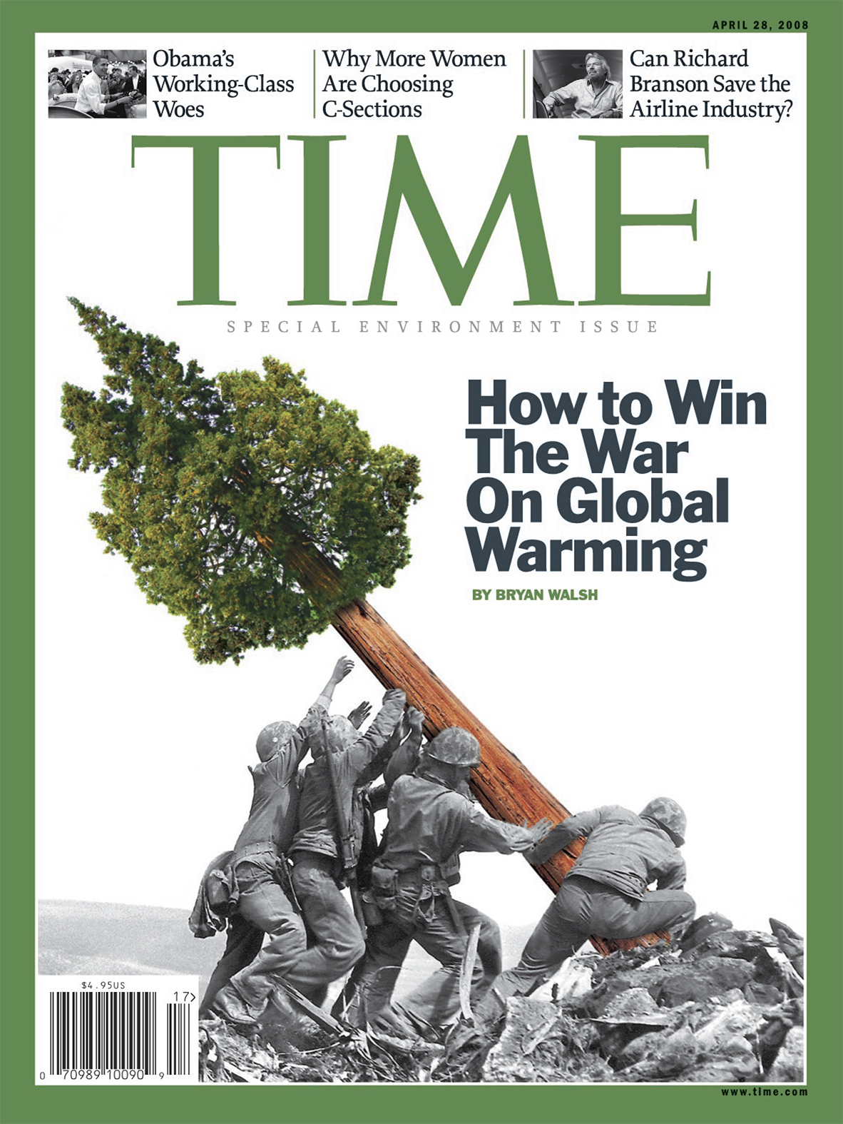 The April 28, 2008 issue of TIME magazine.