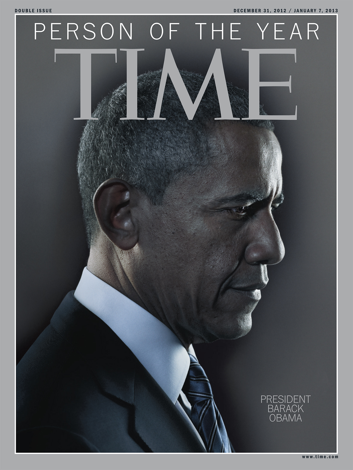 The Dec. 31, 2012 issue of TIME magazine.