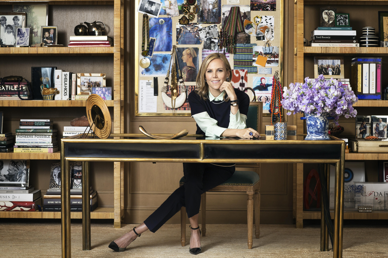 Tory Burch, fashion designer, businesswoman and philanthropist.