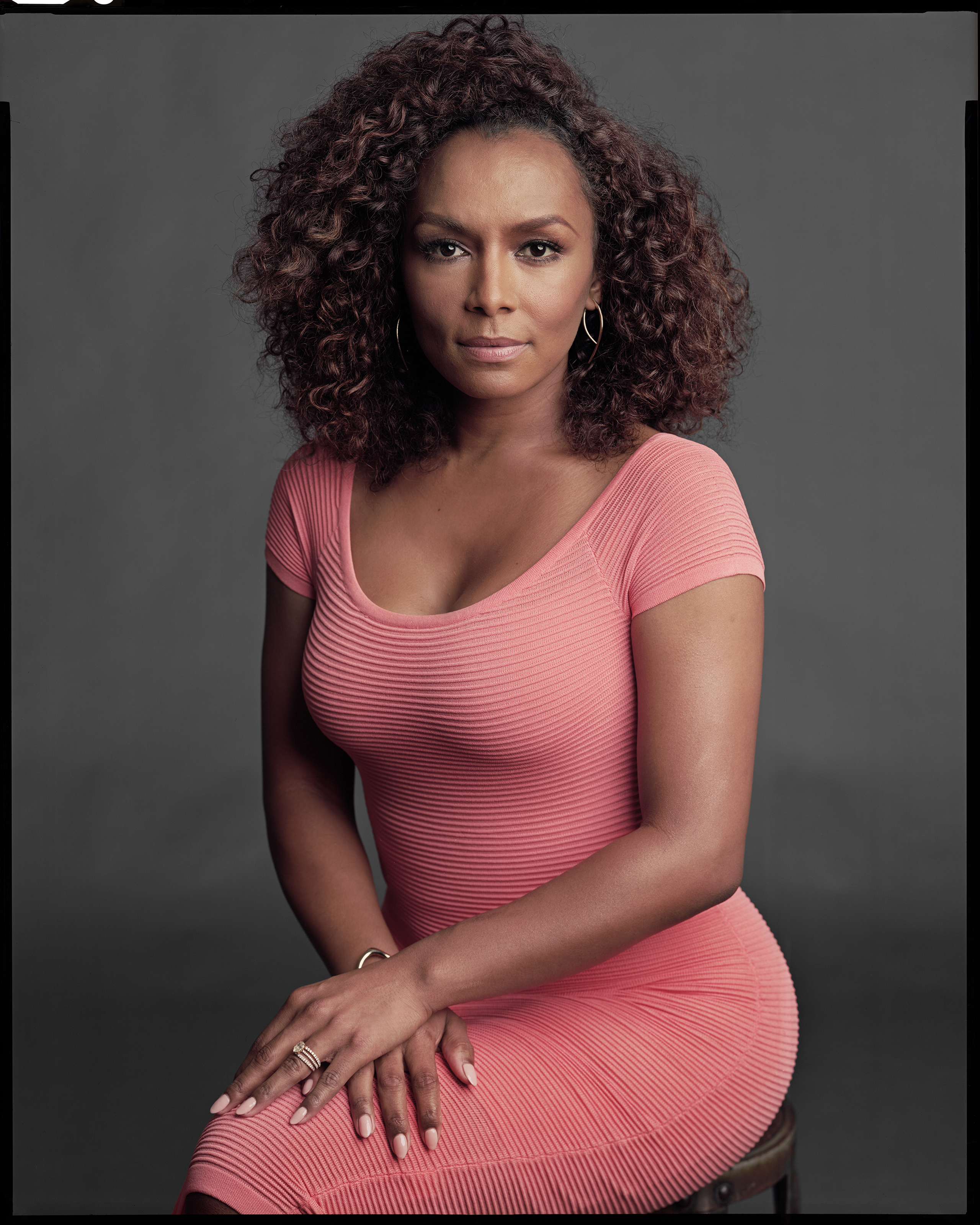 Janet Mock, pictured, conducted the interviews for HBO's documentary The Trans List.