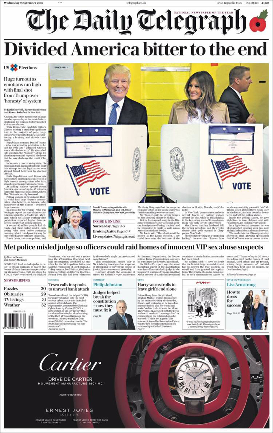 The Daily Telegraph, U.K.