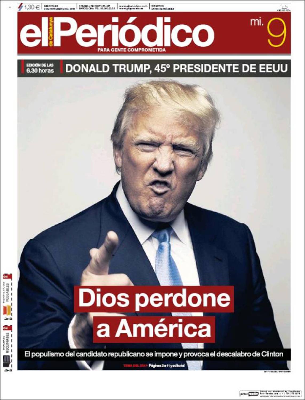 God forgive America , El Periodico, Spain