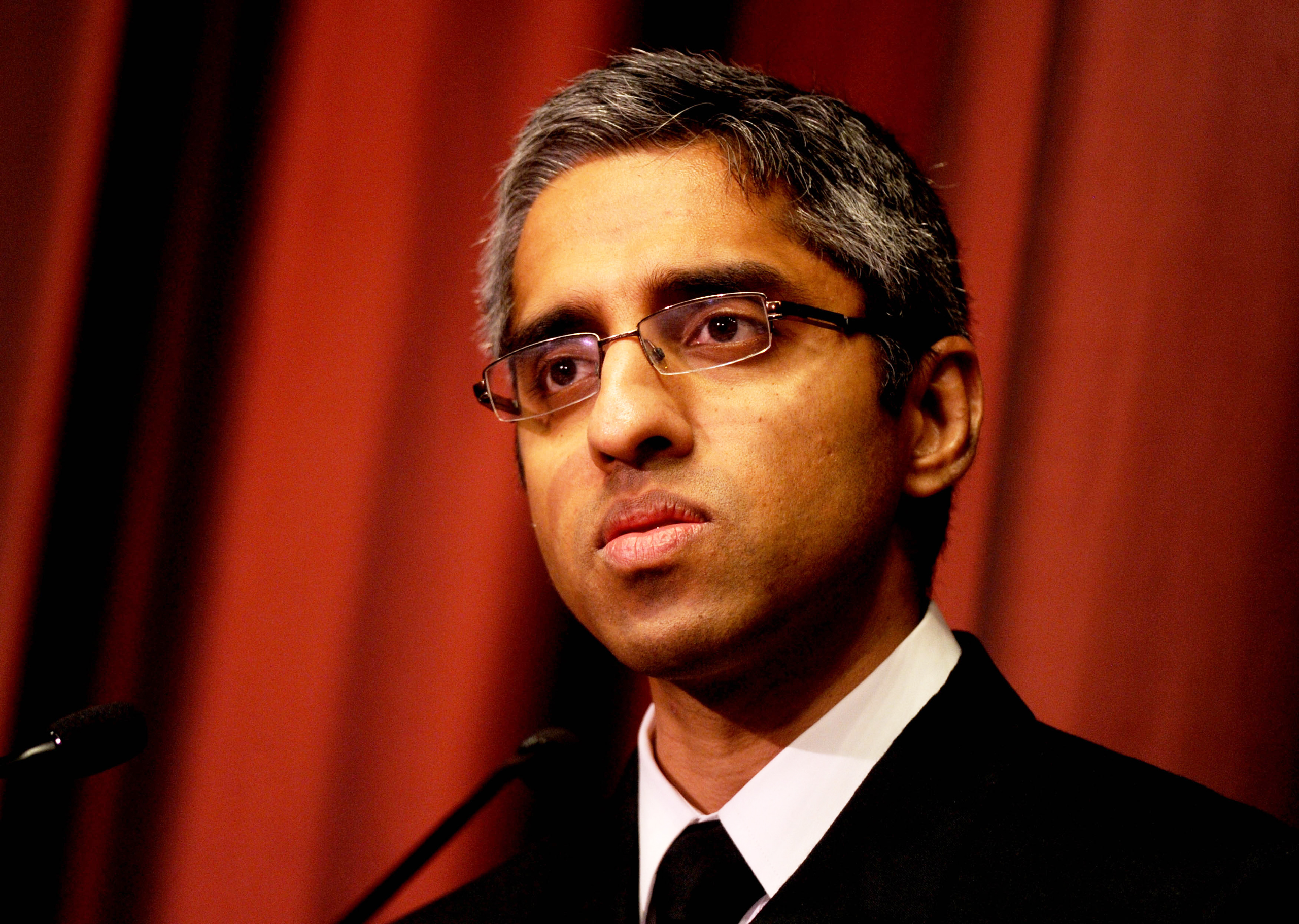 U.S. Surgeon General Dr. Vivek Murthy at The National Action Network Conference on April 14, 2016.