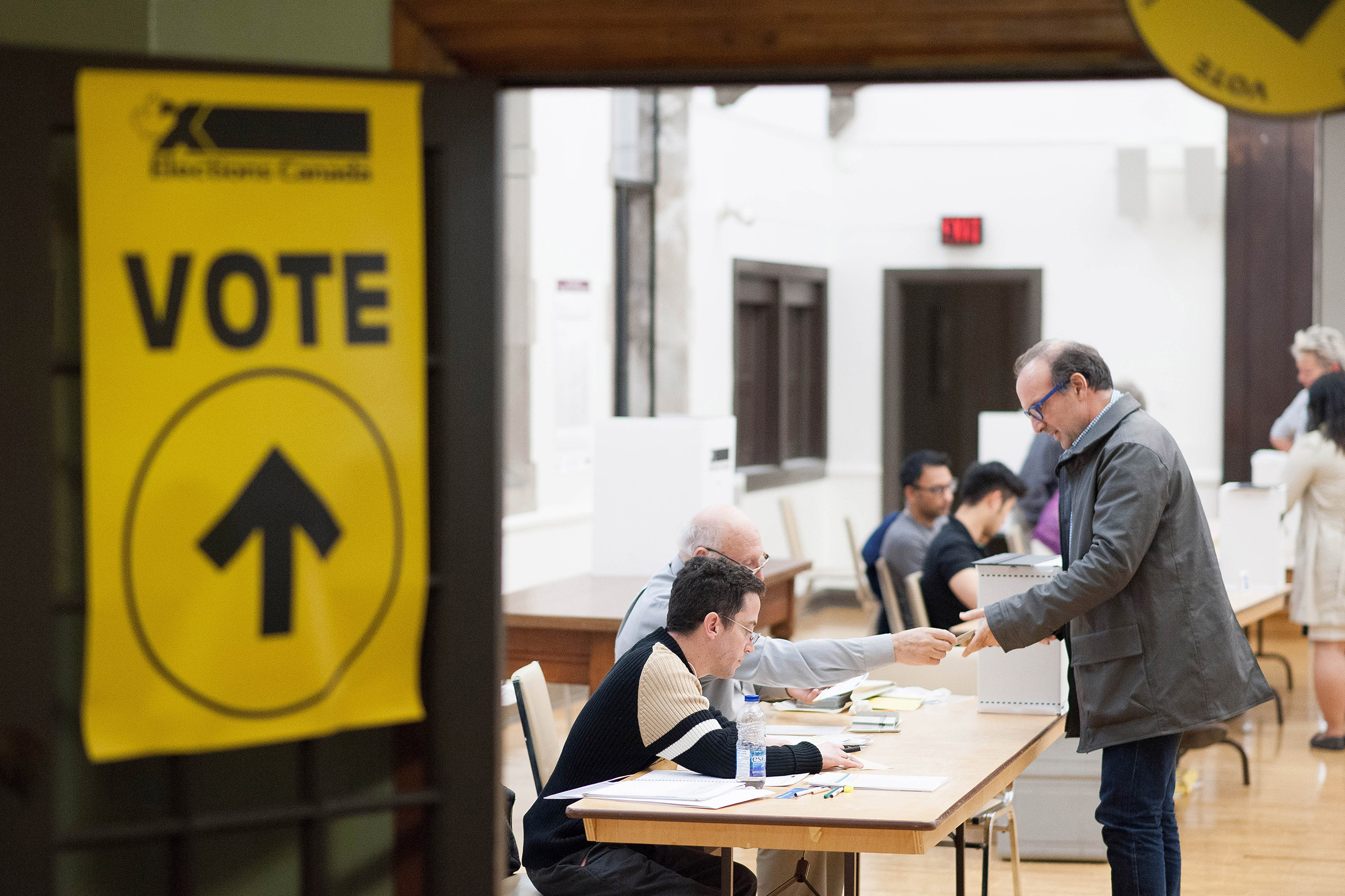 Canadian voters had to endure only 78 days of campaigning last year