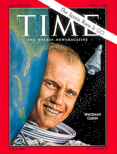 The March 2, 1962, cover of TIME