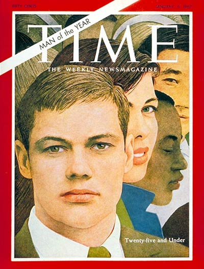 The Jan. 6, 1967, cover of TIME