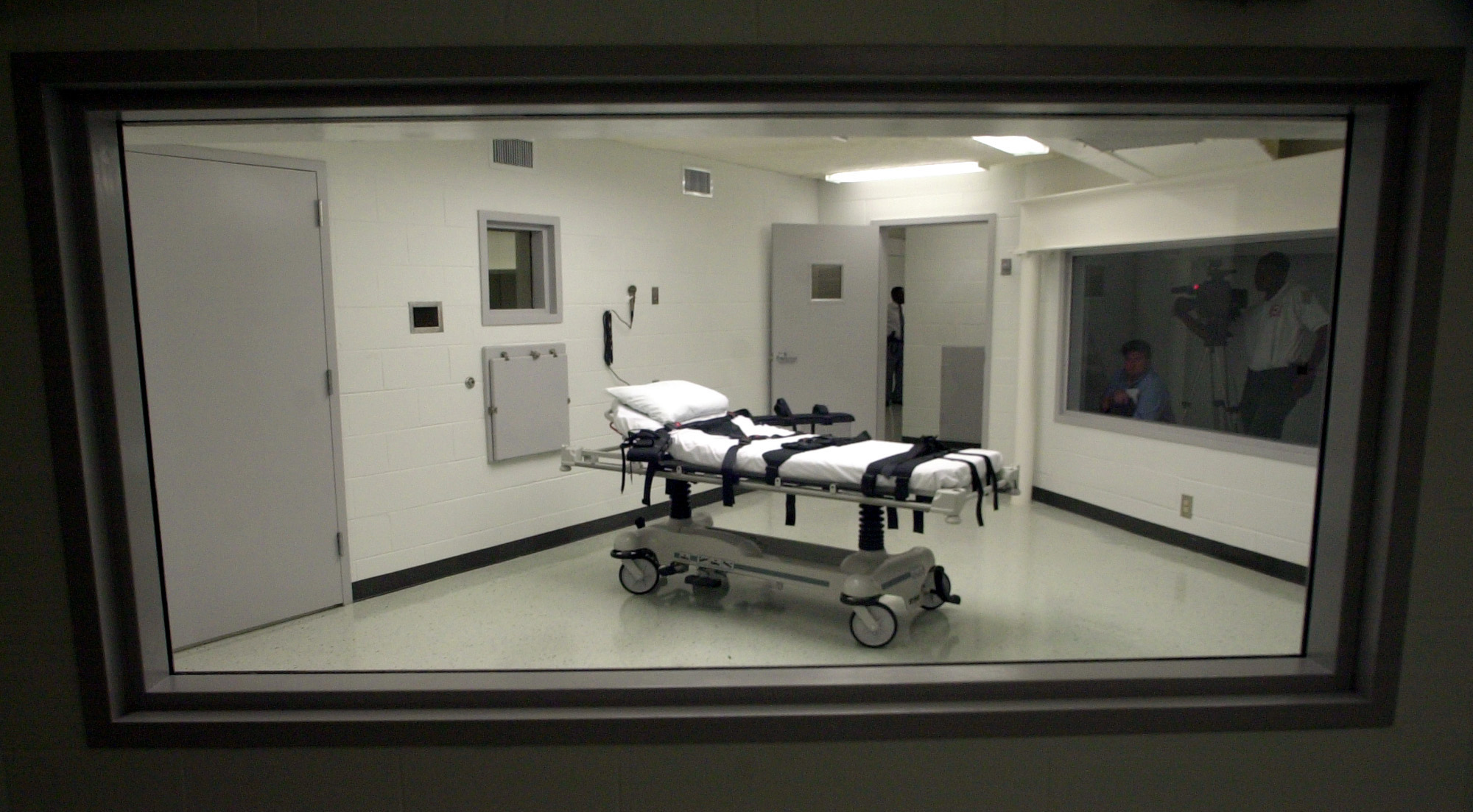 Alabama's lethal injection chamber at Holman Correctional Facility in Atmore, Ala.