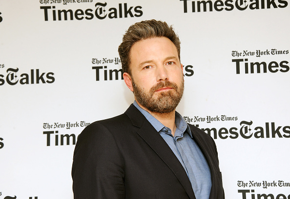 Actor Ben Affleck attends TimesTalks In Conversation with Chip McGrath at The New York Times Center on December 12, 2016 in New York City.