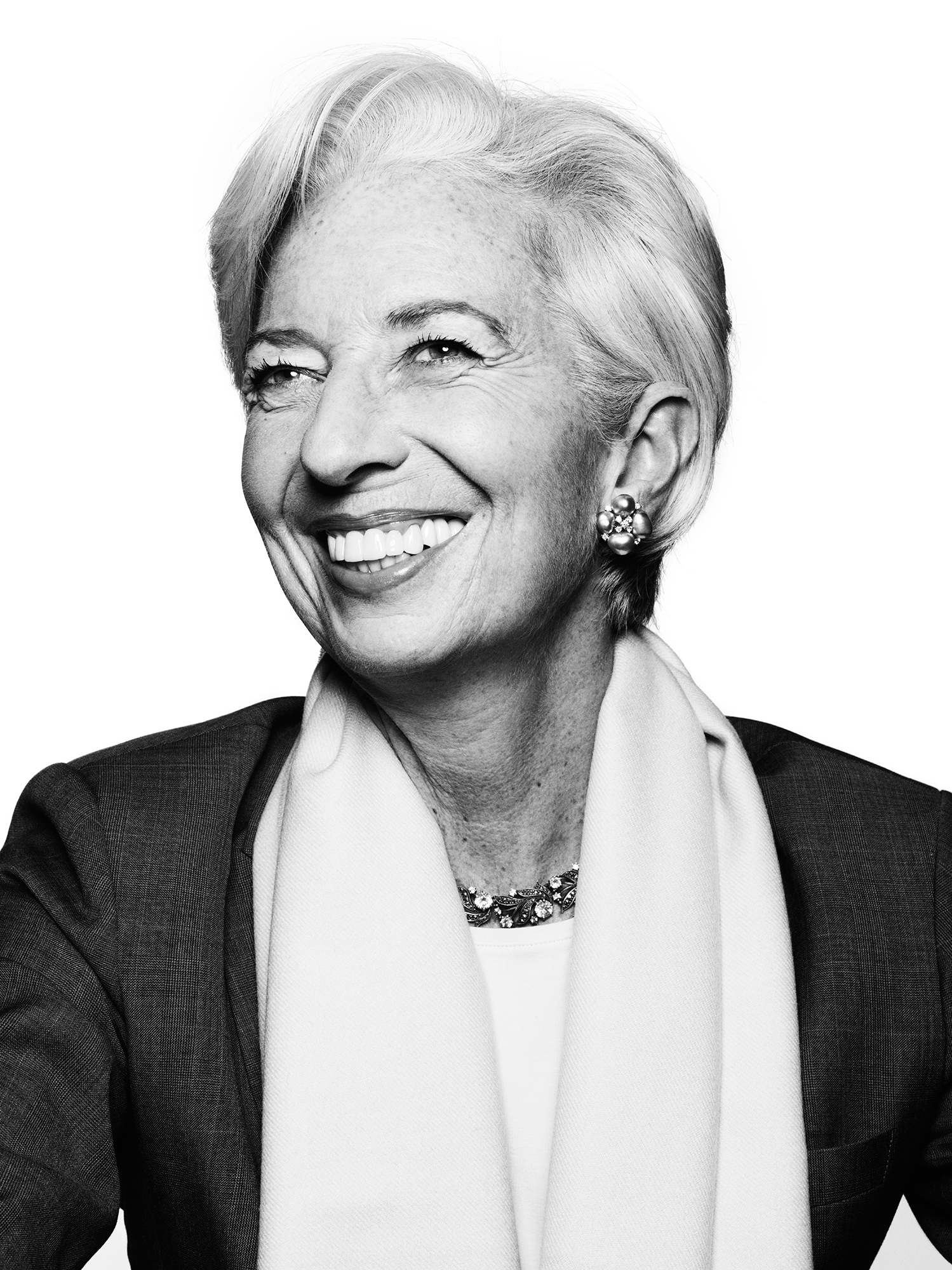 Christine Lagarde from  The 100 Most Influential People.