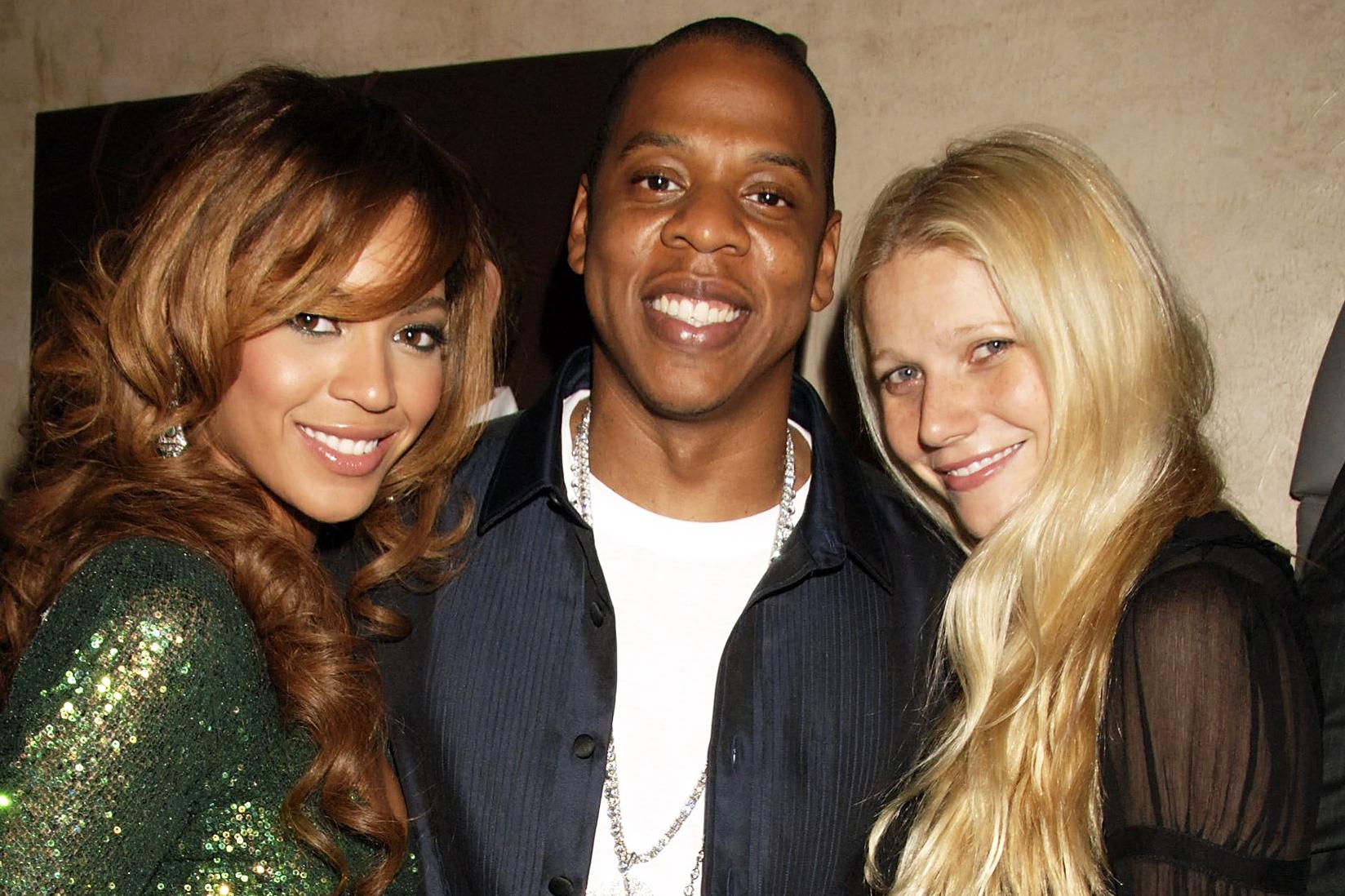 Beyonce, Jay Z, Gwyneth Paltrow