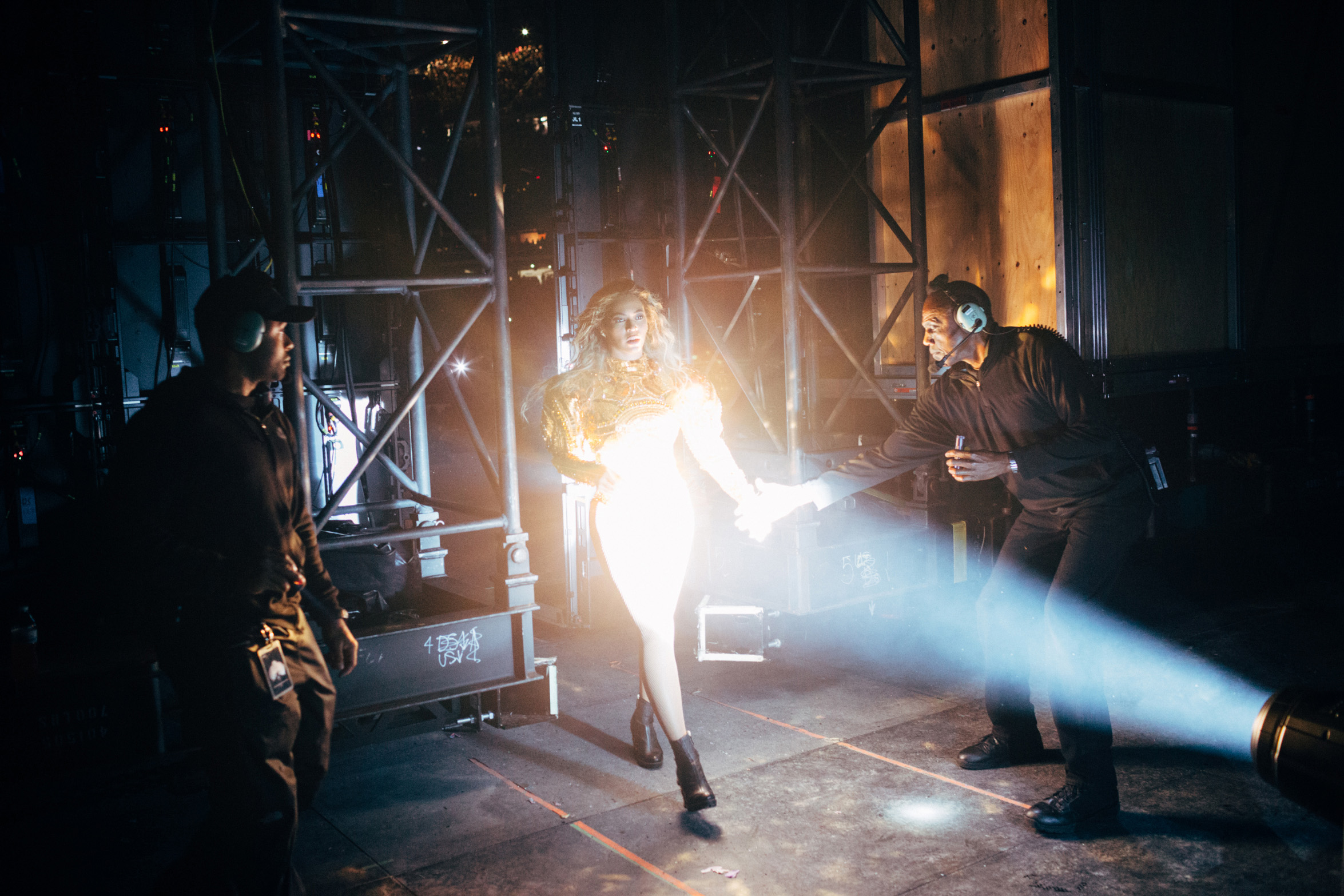 Backstage at Beyoncé's  Formation World Tour at Citi Field in New York City on June 7, 2016.