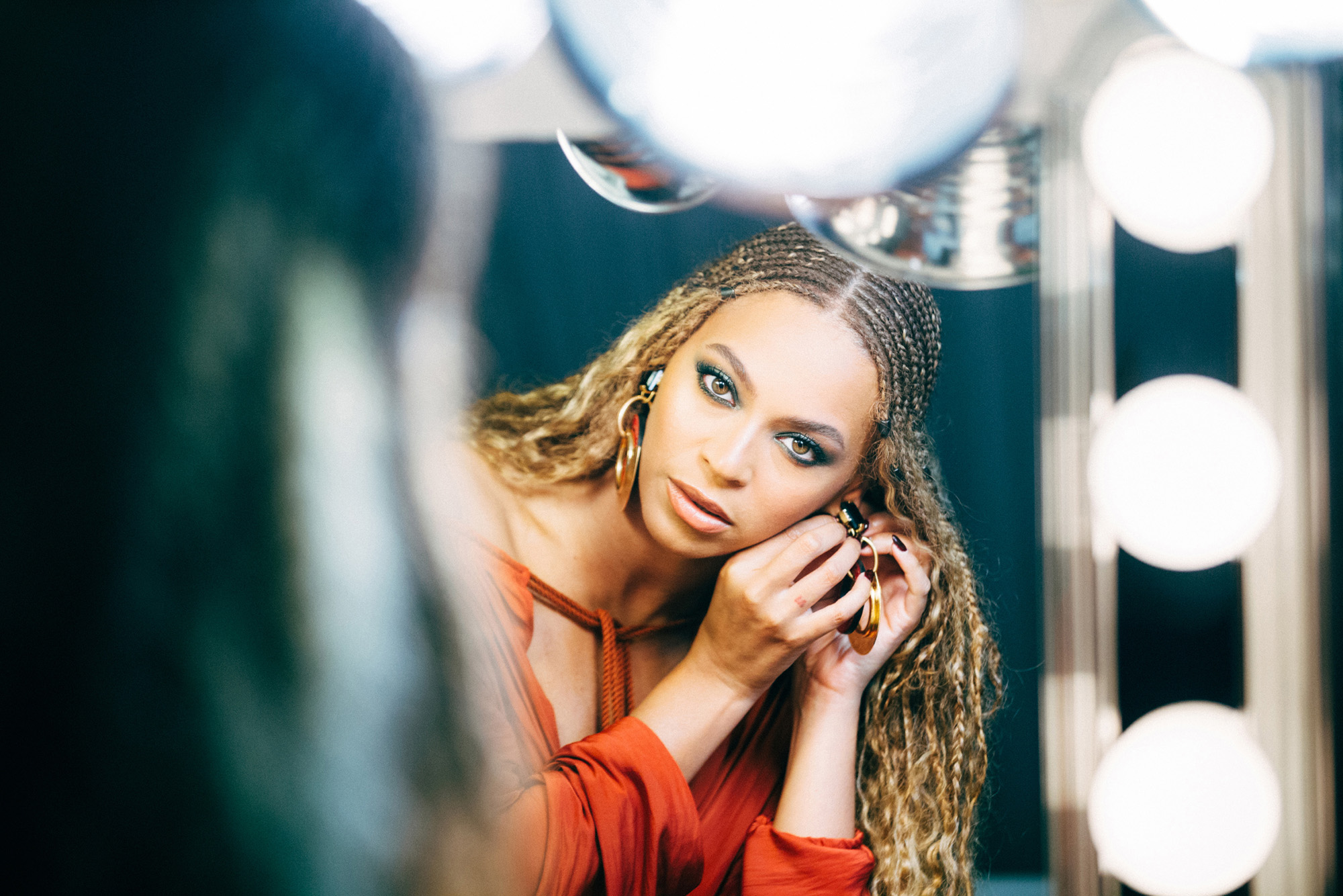 Backstage at Beyoncé's Formation World Tour in Cardiff, Wales, on June 30, 2016.