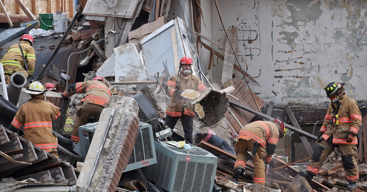 South Dakota Building Collapse: Woman Rescued In Sioux