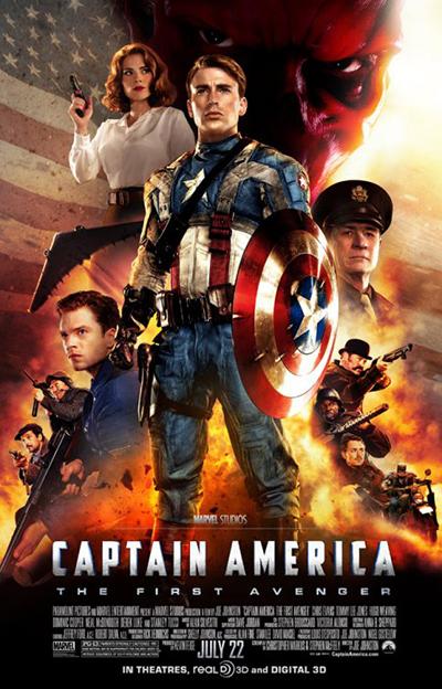 Captain America: The First Avenger, 2011