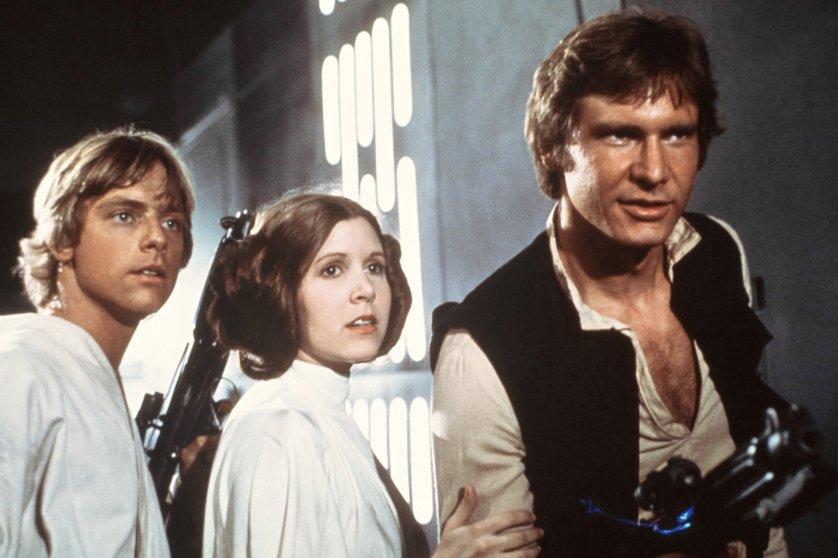 Star Wars, Princess Leia Organa, 1977.
