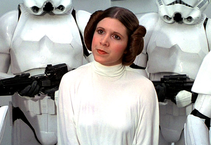 Image result for carrie fisher leia\