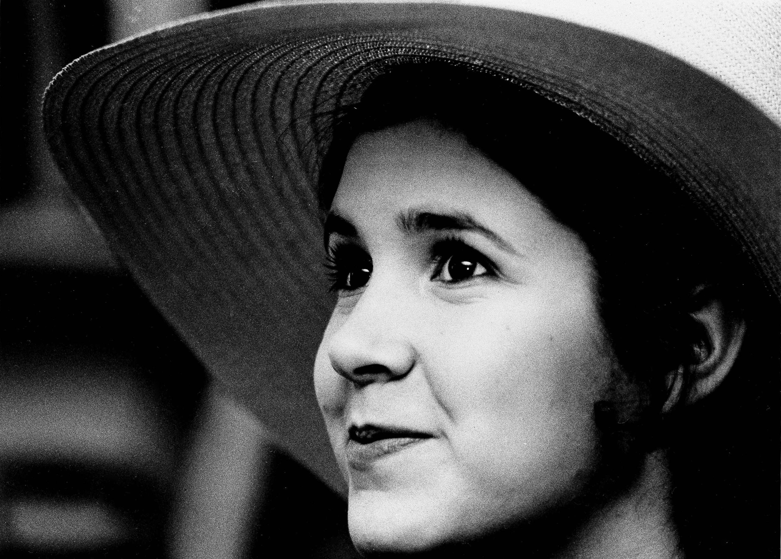 Carrie Fisher, 16-years-old is pictured in New York, May 2, 1973.