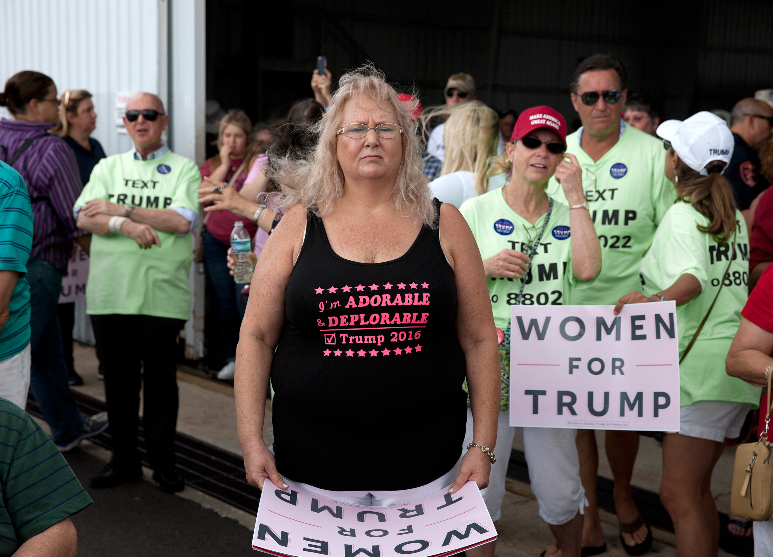 Trump for President rally in Lakeland, Florida, Oct. 12, 2016.From  The 82 Most Unforgettable Photos From the Election