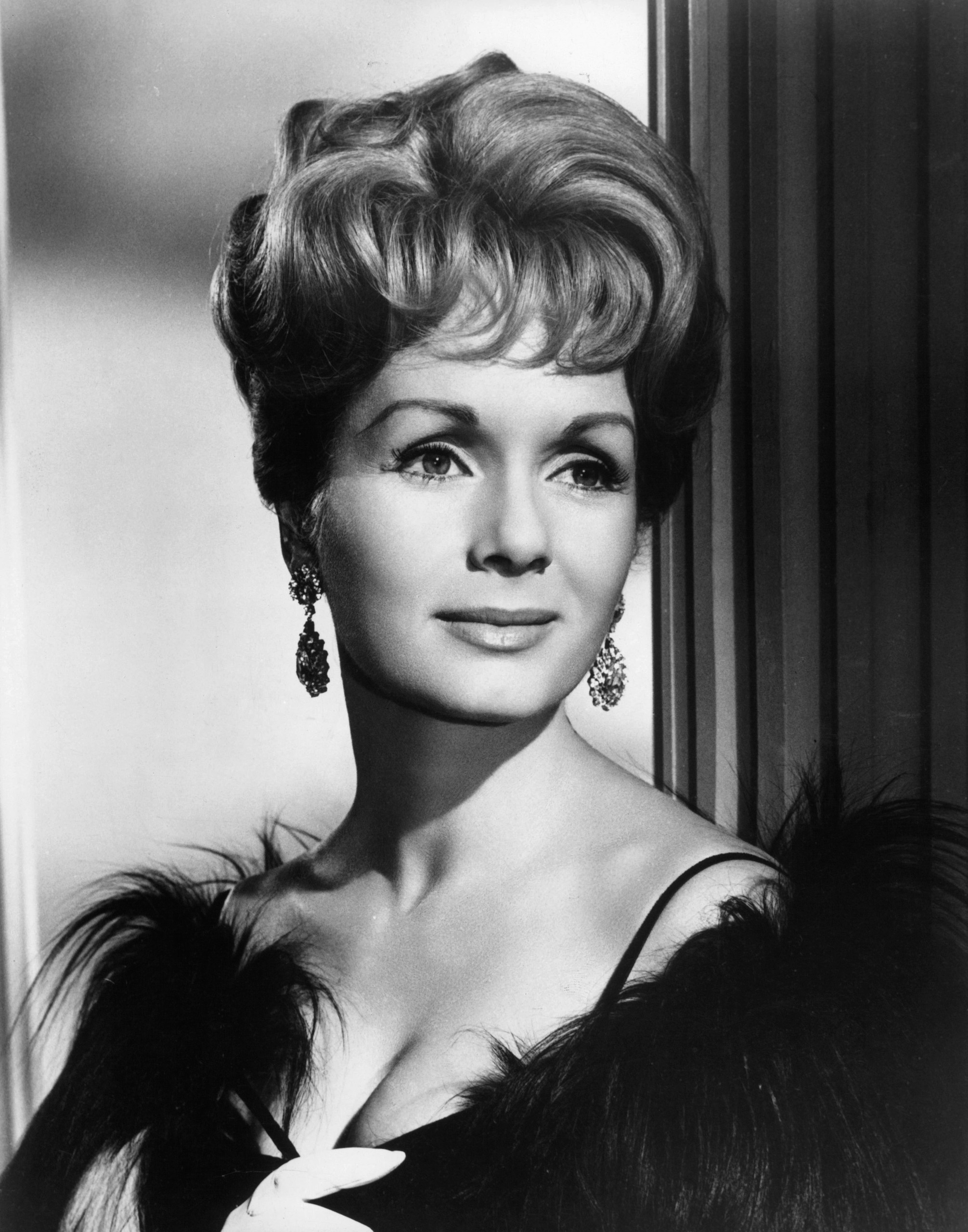 Debbie Reynolds star of the film 'The Unsinkable Molly Brown', 1964.