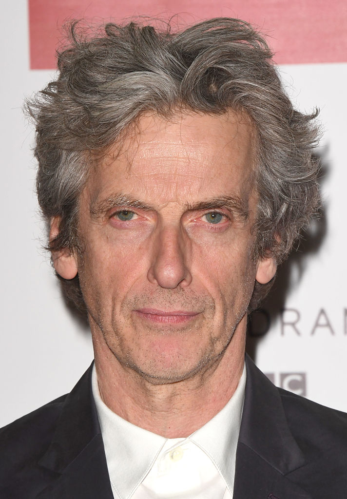 Peter Capaldi attends the Doctor Who 2016 Christmas special screening at BFI Southbank on December 14, 2016 in London, England.