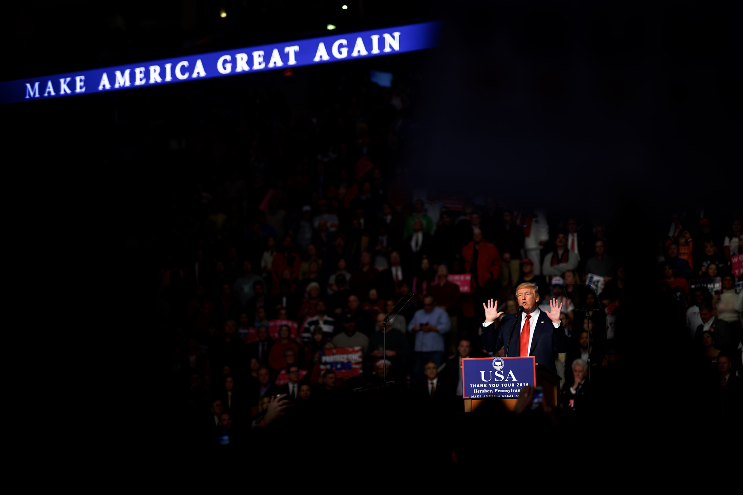 HERSHEY, PA - DECEMBER 15:  