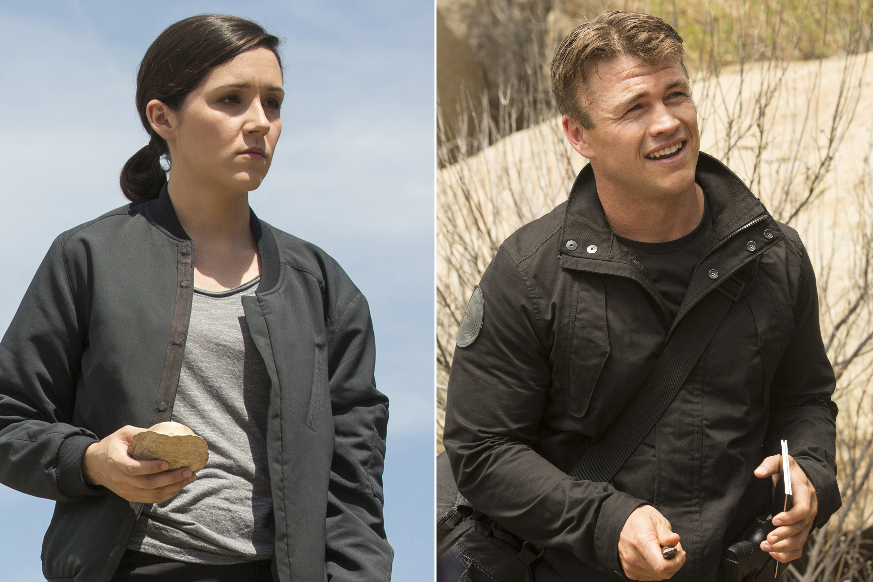 Shannon Woodward Luke Hemsworth