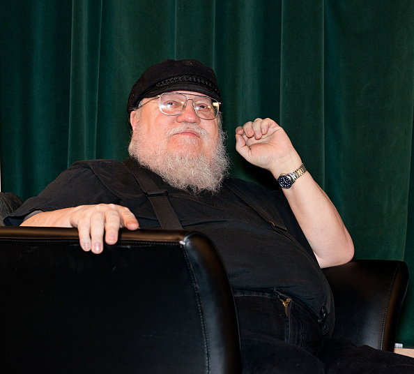 Writer George R. R. Martin participates in a Q & A session following SundanceTV's 'Hap & Leonard' Screening at the Jean Cocteau Theater on February 23, 2016 in Santa Fe, New Mexico.