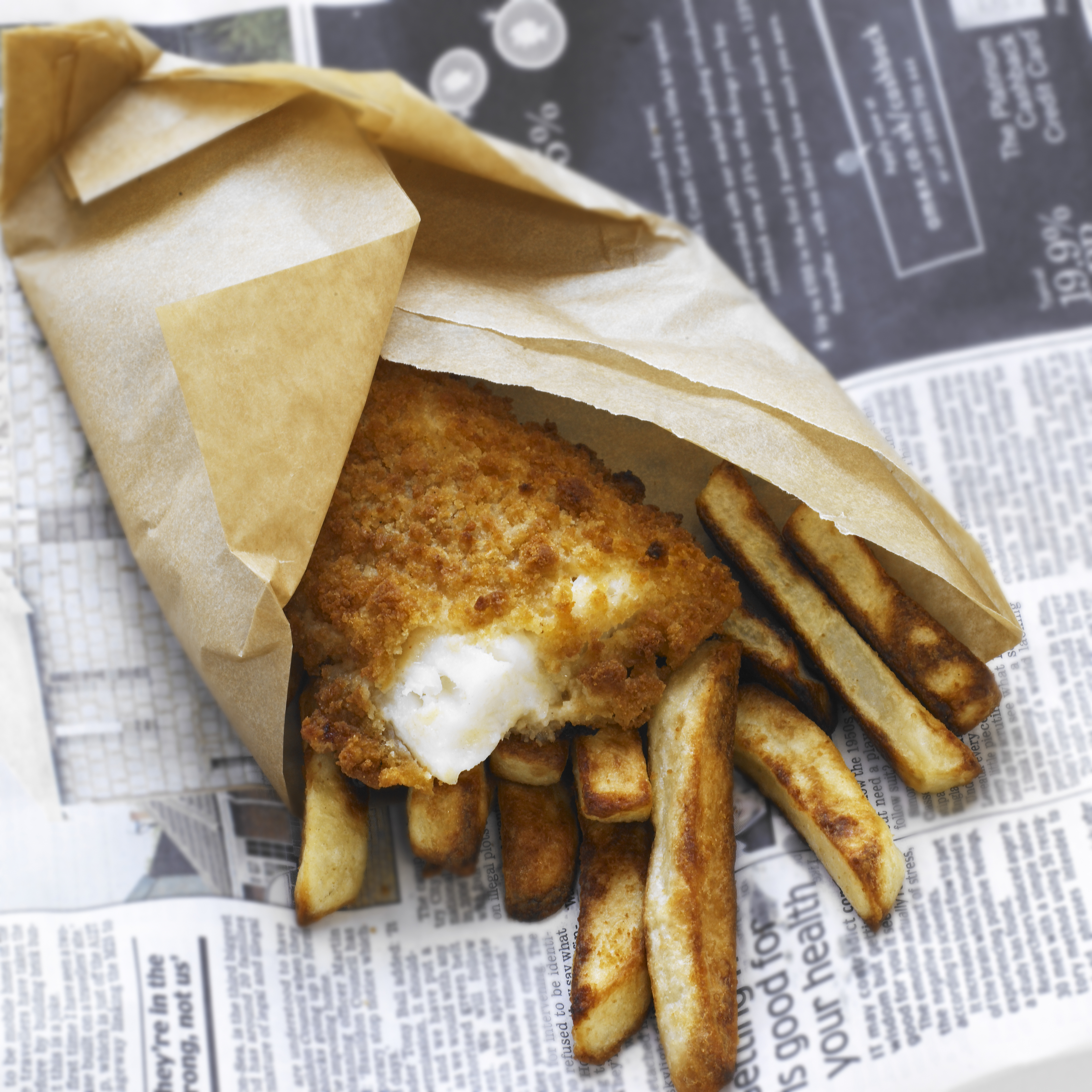 The discovery of increased numbers of squid in the North Sea could affect the British fish and chip industry.