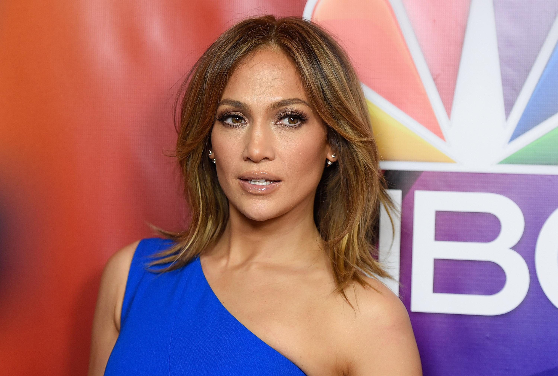 Actress Jennifer Lopez arrives at the 2016 Winter TCA Tour - NBCUniversal Press Tour  at Langham Hotel on Jan.13, 2016 in Pasadena, California.