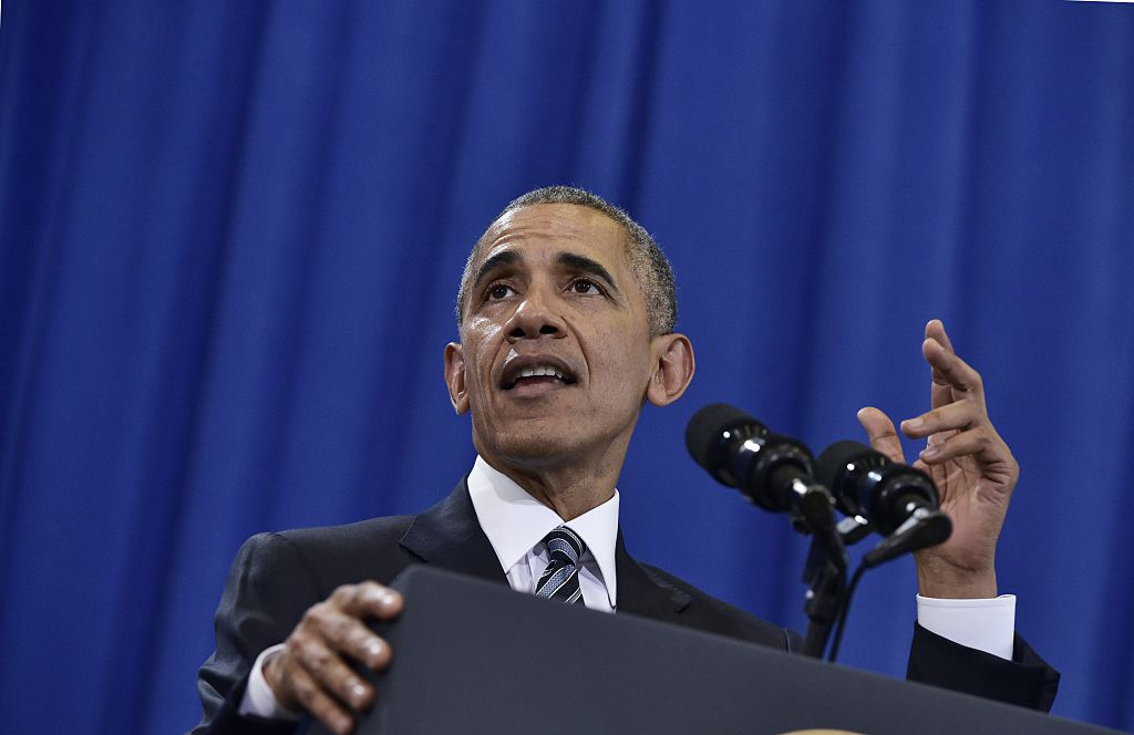 President Obama addresses his counter-terror legacy Tuesday at MacDill Air Force Base, Fla.