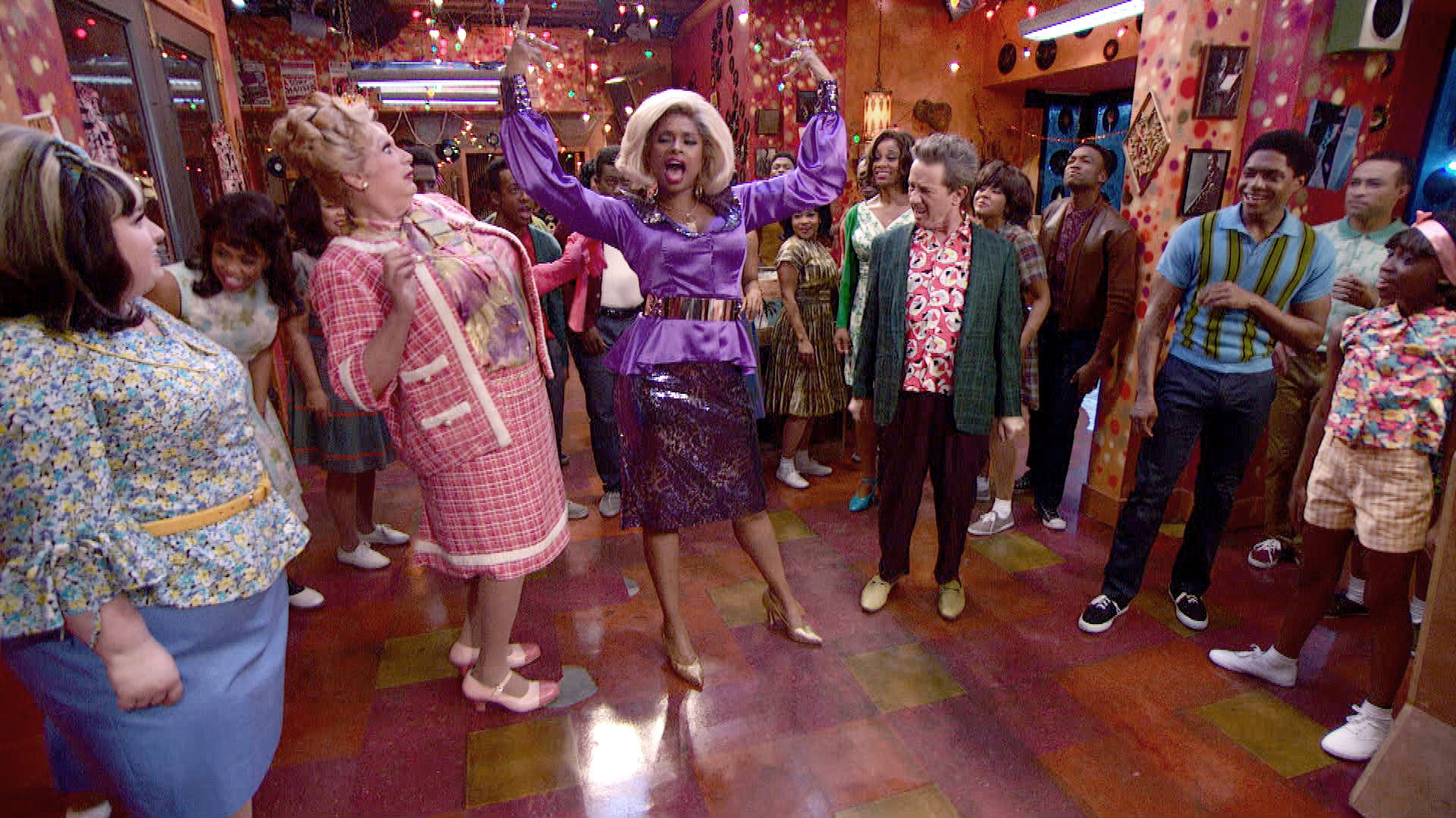 The cast of 'Hairspray Live!' Dec. 2, 2016.