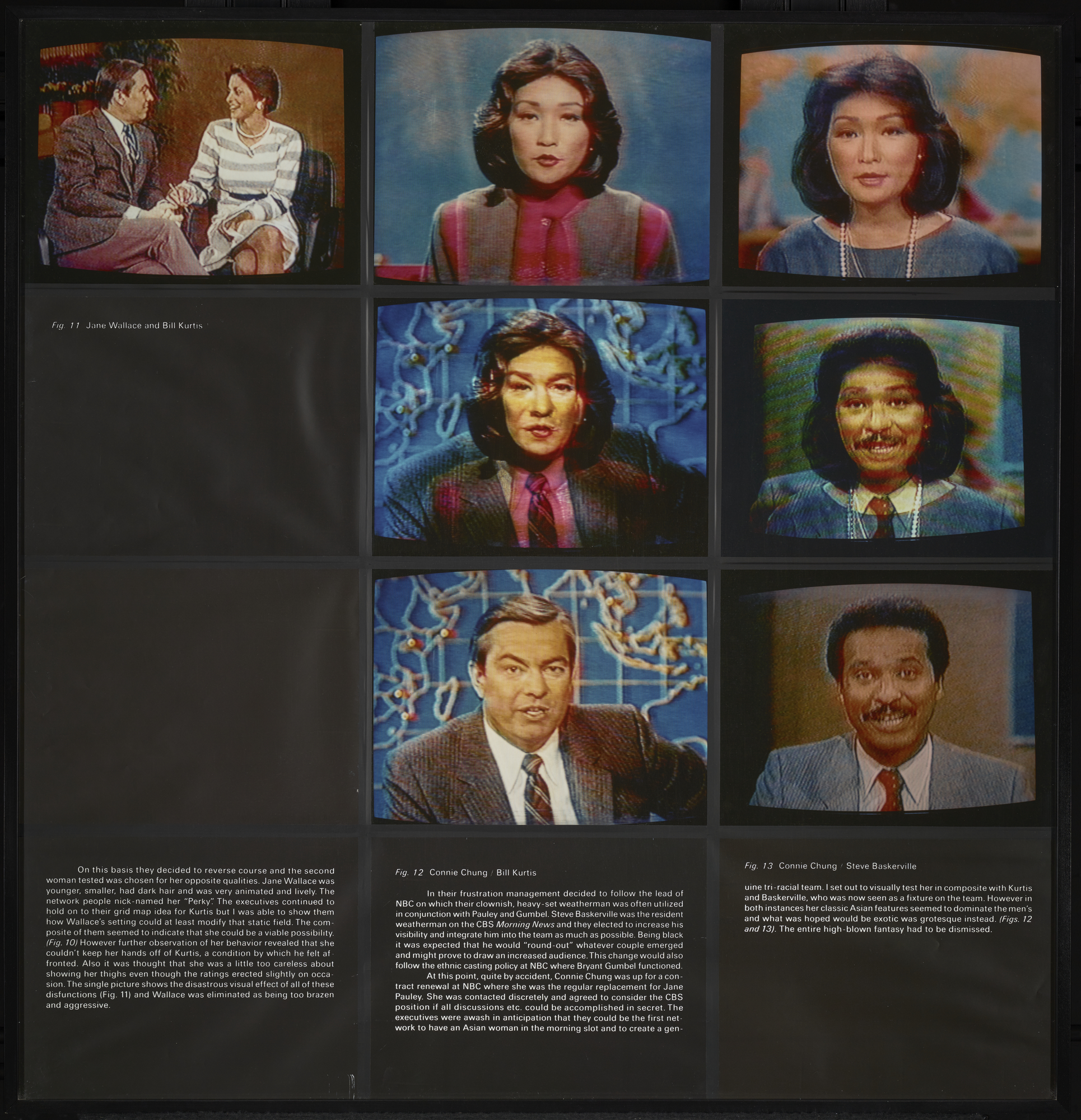 A Case Study in Finding an Appropriate TV Newswoman (A CBS Docudrama in Words and Pcitures), 1984