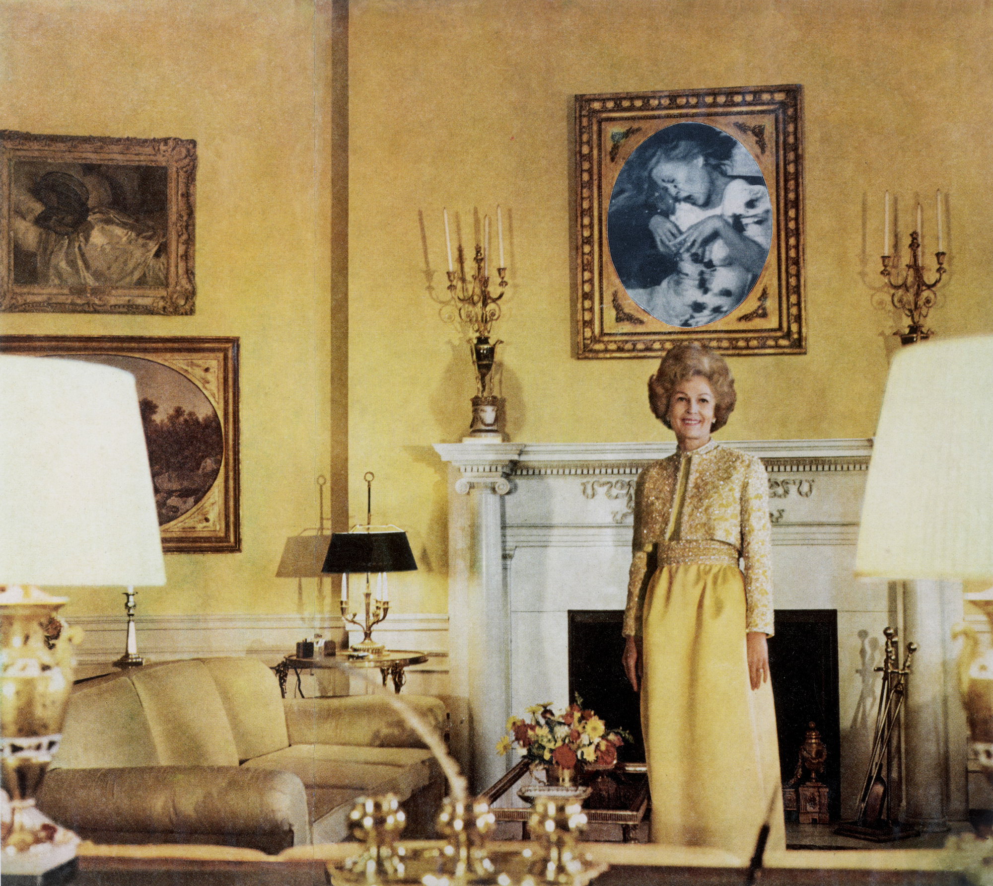 First Lady (Pat Nixon), from the series House Beautiful: Bringing the War Home, c. 1967–1972