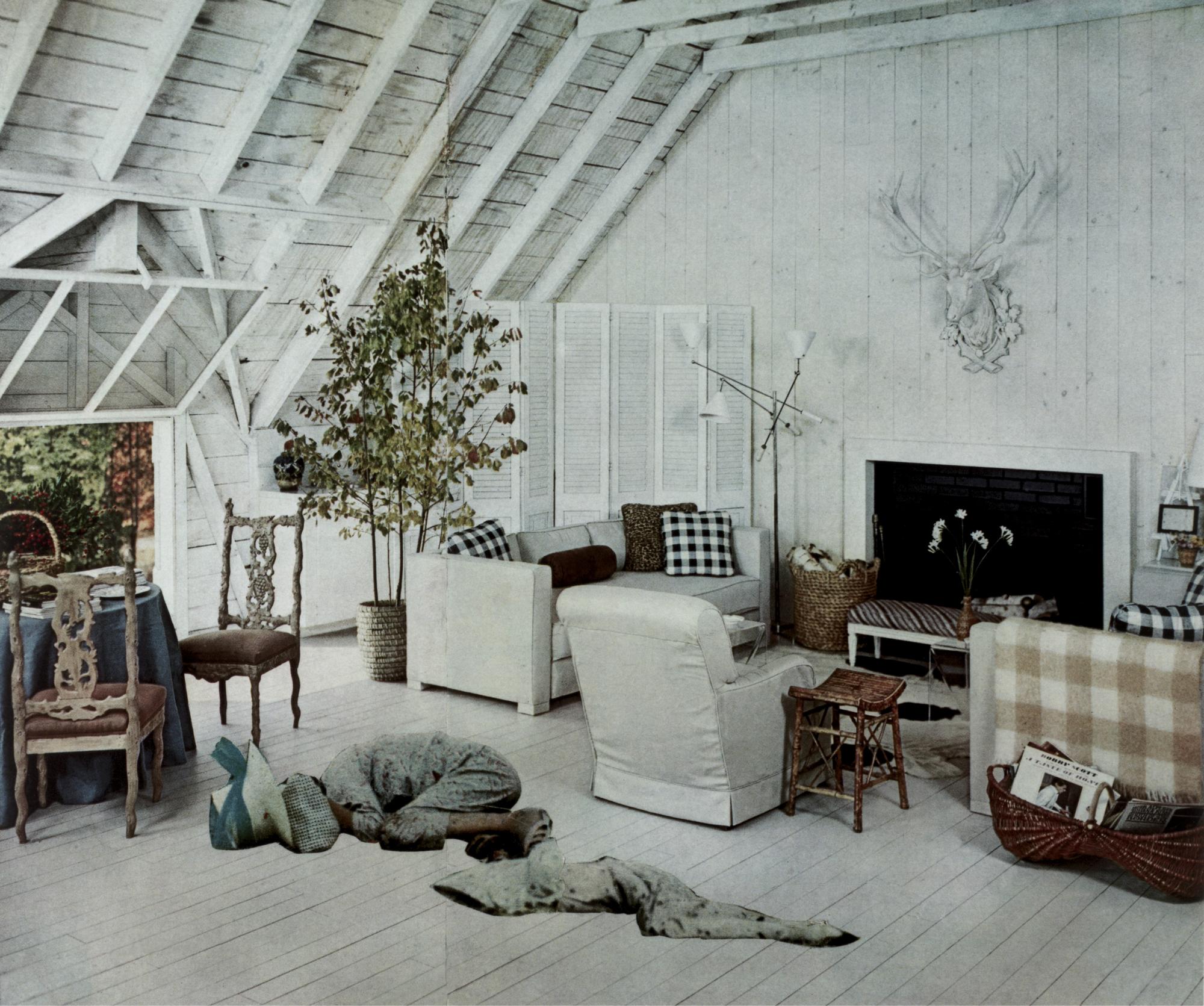 Roadside Ambush, from the series House Beautiful: Bringing the War Home, c. 1967–1972